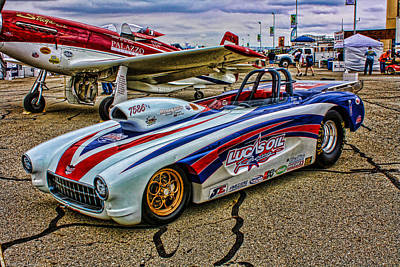 Photograph - Matt Forbes 1957 Corvette Roadster by Tommy Anderson