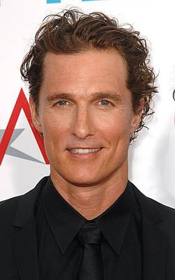 Matthew Mcconaughey At Arrivals Print by Everett