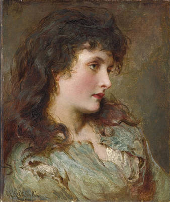 Painting - Maud Muller by George Elgar Hicks
