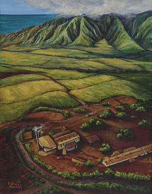 Maui Sugar Mill Original by Darice Machel McGuire