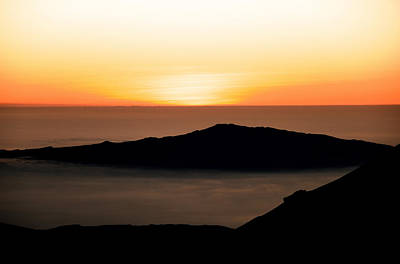 Evening Photograph - Mauna Kea Sunset by Jennifer Ancker
