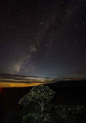 Mauna Loa Moon Set Print by Sean King