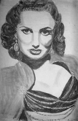 Maureen O'hera Print by Scarlett Royal