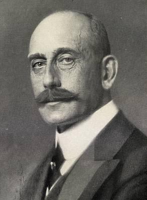 Max Von Baden, 1867-1929. Heir To Print by Vintage Design Pics
