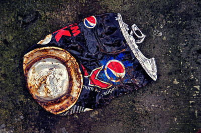 Pepsi Max Photograph - Maxed Out by Odd Jeppesen