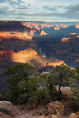 Grand Canyon Photograph - May Day Sunrise by Mike Buchheit