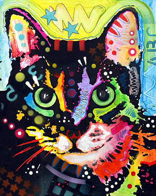 Kitty Painting - Maya by Dean Russo