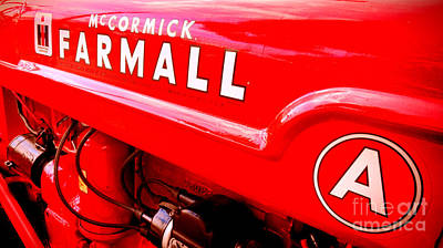 Machinery Photograph - Mccormick Farmall A by Olivier Le Queinec
