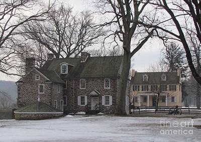 Battle Of Trenton Photograph - Mcconkey Ferry Inn And Mahlon Taylor Homestead by Anne Ditmars