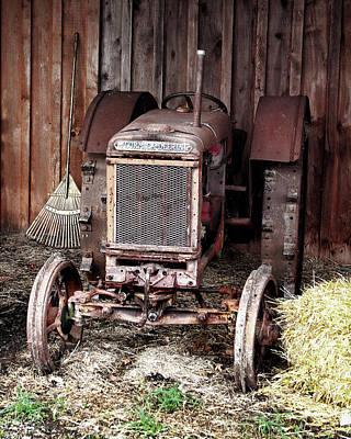 Mccormick-deering Tractor Original by John Freidenberg