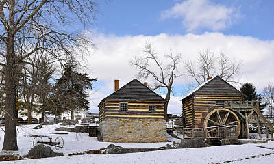 Old Mills Photograph - Mccormick Farm 1 by Todd Hostetter