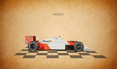 Formula Car Photograph - Mclaren Mp4 1984 by Mark Rogan