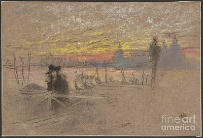 Whistler Painting - Mcneill Whistler  American by James Abbott