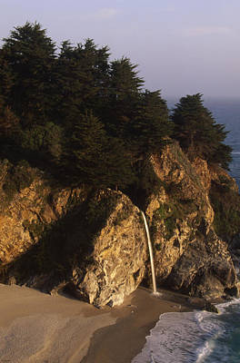 Coast Highway One Photograph - Mcway Falls by Soli Deo Gloria Wilderness And Wildlife Photography