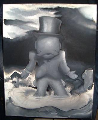 Alex Rodriguez Painting - Me-nopoly by Alex Rodriguez