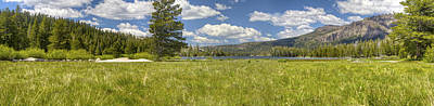 Marsh Photograph - Meadows Pano by SC Heffner