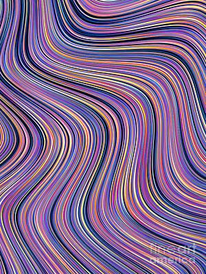 Artistic Digital Art - Meandering by John Edwards