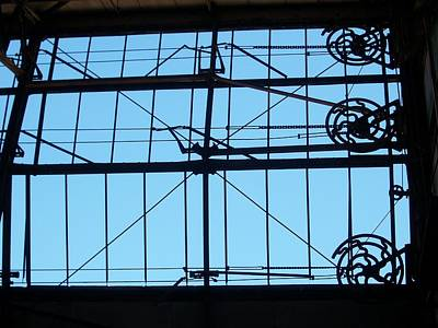 Mechanical Windows Print by Edmund Akers