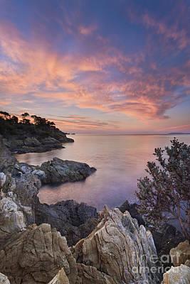 Mediterranean Sunrise Print by Rod McLean