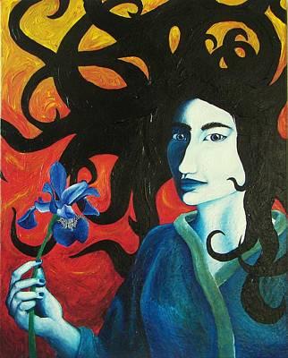 Gorgon Painting - Medusa by Audrey N Reda