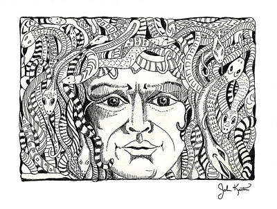 Medusa Print by John Keaton