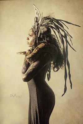 Bodypaint Photograph - Medusa's Brood V by David April