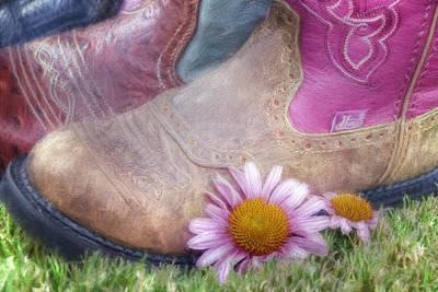 Cowboy Boots Photograph - Megaboots 2015 by Joan Carroll