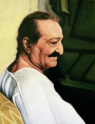 Baba Painting - Meher Baba 3 by Nad Wolinska