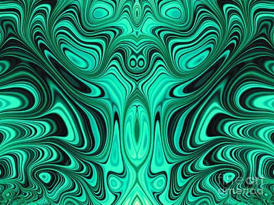 Turbulent Digital Art - Mekon by John Edwards