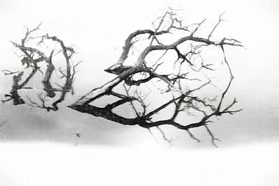 Depression Mixed Media - Melancholy Mood by Dan Sproul