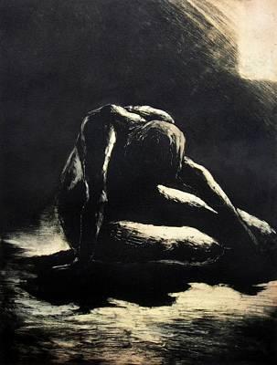 Melancholy Print by Robert Plog