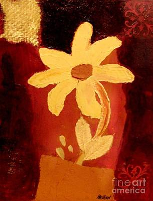 Mellow Yellow Print by Marsha Heiken