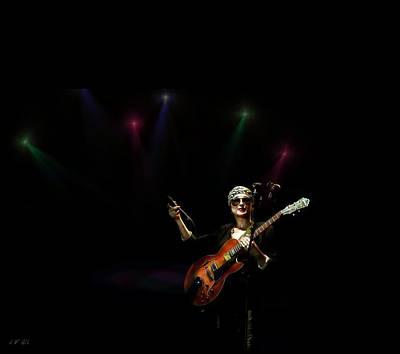 New Jersey Musician Photograph - Melody Gardot 1 by Jean Francois Gil