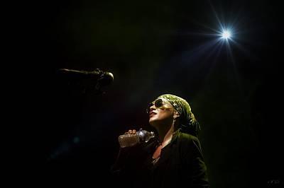 New Jersey Musician Photograph - Melody Gardot 3 by Jean Francois Gil