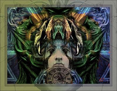 Mystic Photograph - Melpomene - Tragic Predictions by Daniel Arrhakis