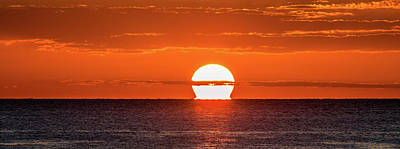Sunset Photograph - Melting Away by Fred Boehm