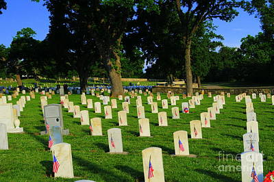 Memorial Day Print by Kathleen Struckle