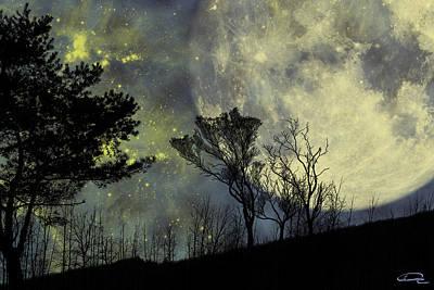 Forest Mixed Media - Memories by Emma Alvarez
