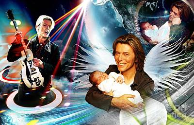 Memories Of David Bowie  Original by LDS Dya