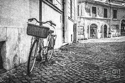 Old Town Drawing - Memories Of Italy Sketch by Edward Fielding