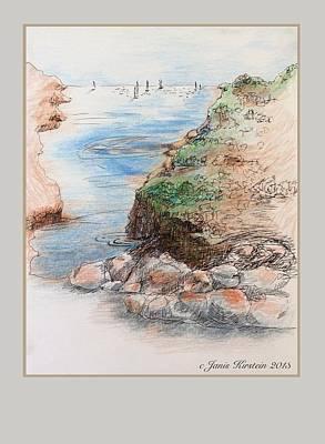 Memories Of Martha's Vineyard 1 Print by Janis Kirstein