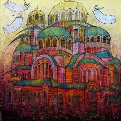 Painting - Memories Of Sofia by Albena Vatcheva