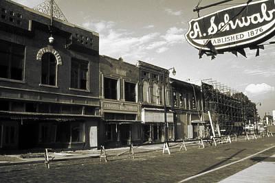 Cities Photograph - Memphis Beale Street - Vintage Photo Art by Art America Online Gallery
