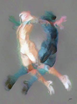 Mental Equilibrium Print by Joaquin Abella