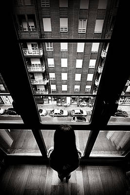 Perspective Photograph - Mentre Tutto Scorre (while Everything Flows) by Nicolino Sapio