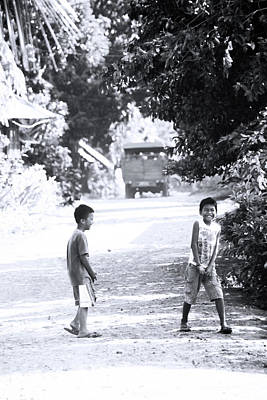 Photograph - Menzi Lane by Jez C Self