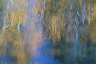 Merced River Reflections 15 Print by Larry Marshall