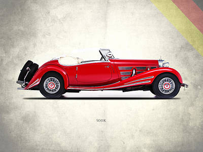 Mercedes Photograph - Mercedes-benz 500k 1936 by Mark Rogan