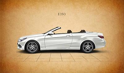 Car Photograph - Mercedes-benz E350 by Mark Rogan