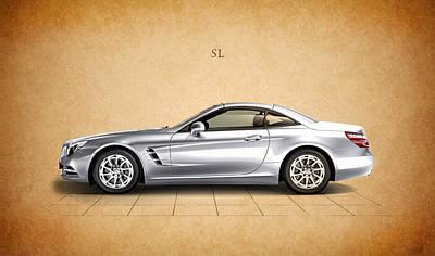 Mercedes Benz Photograph - Mercedes Benz Sl by Mark Rogan